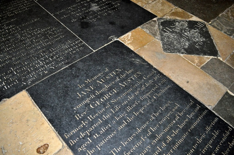 Jane Austen Memorial, Winchester Cathedral