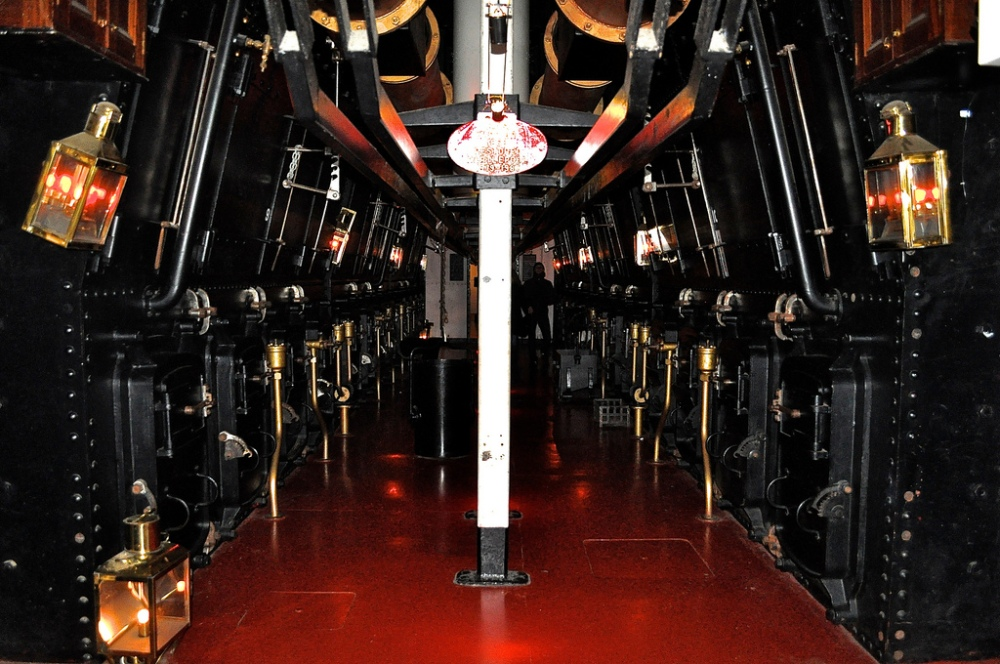 The Engine Rooms of HMS Warrior