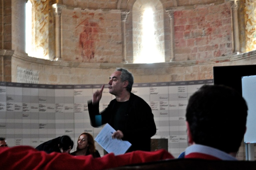Ferran Adria at LeDomaine