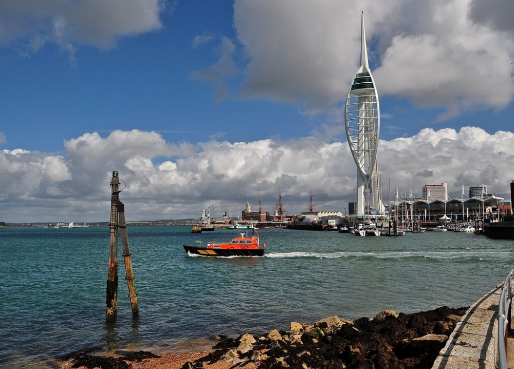 Spinnaker Tower from The Hard