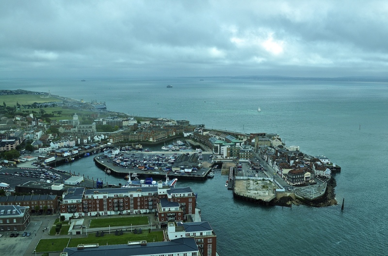 Views from Spinnaker Tower