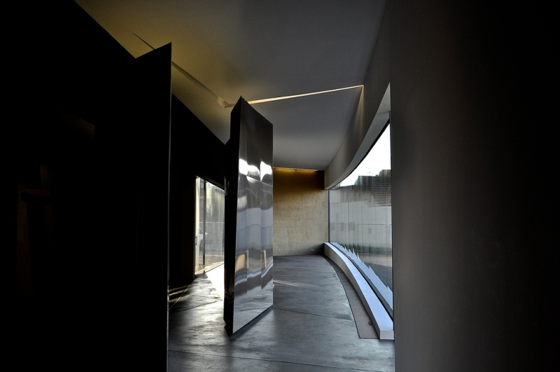 Zaha Hadid Fire Station - Vitra - lockers and changing rooms
