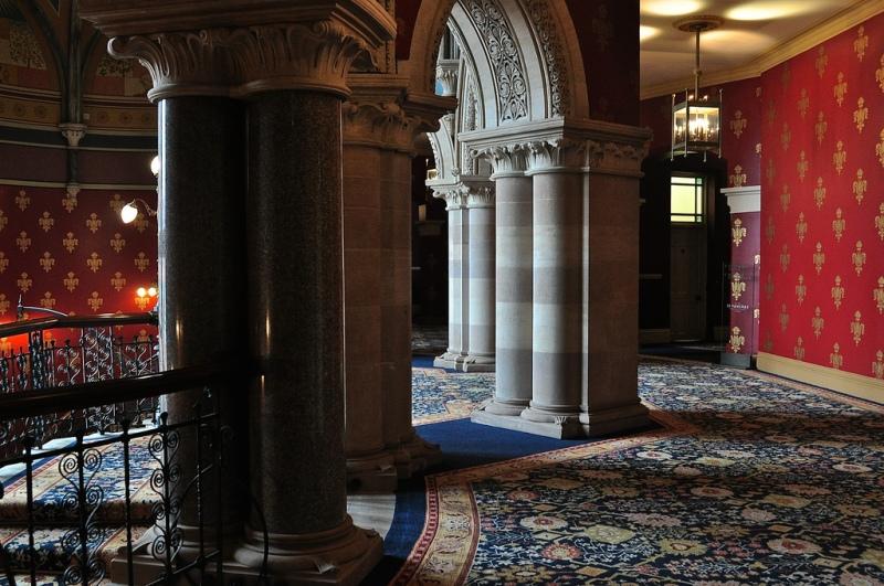 Detail, St Pancras Renaissance Hotel London
