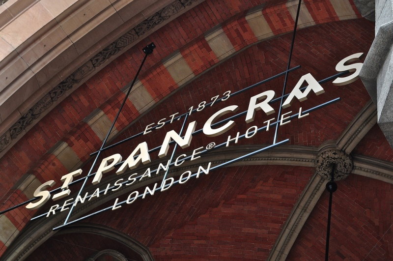 Entrance, St Pancras Renaissance Hotel London