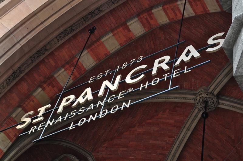 Entrance, St Pancras Renaissance Hotel London