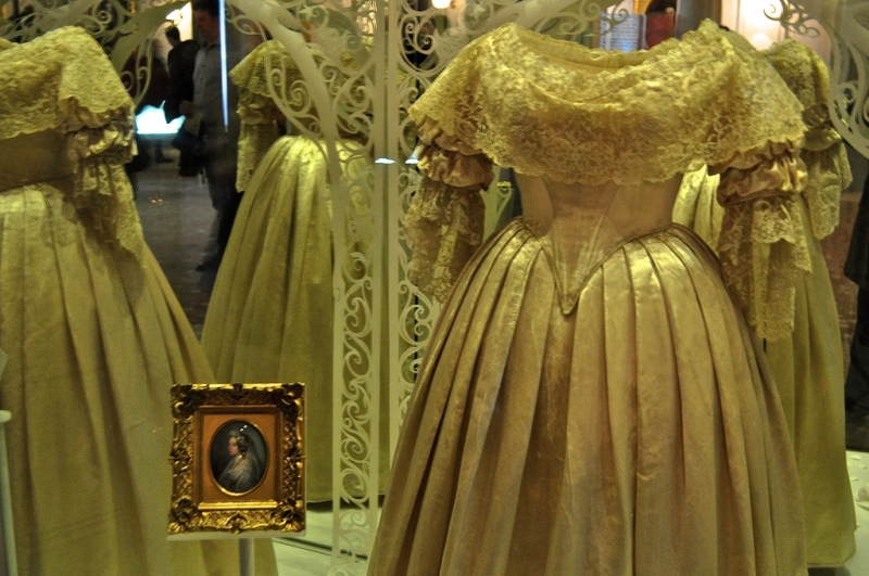 One of Queen Victoria's gowns