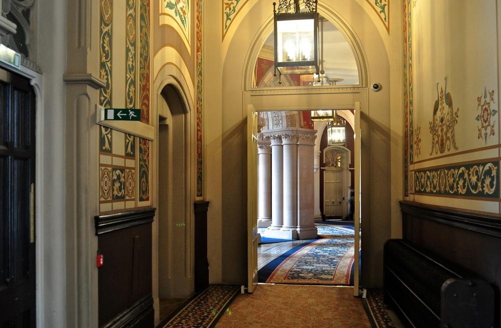 Corridor, St Pancras Renaissance Hotel London