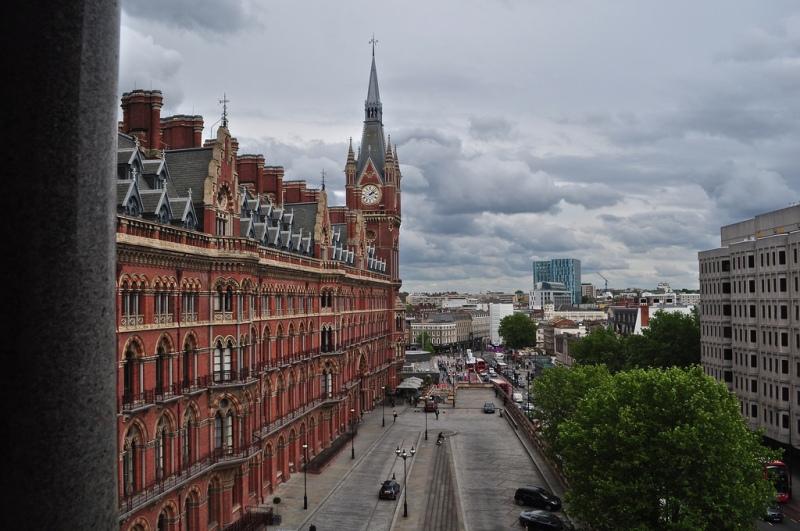St Pancras Renaissance Hotel London from my suite