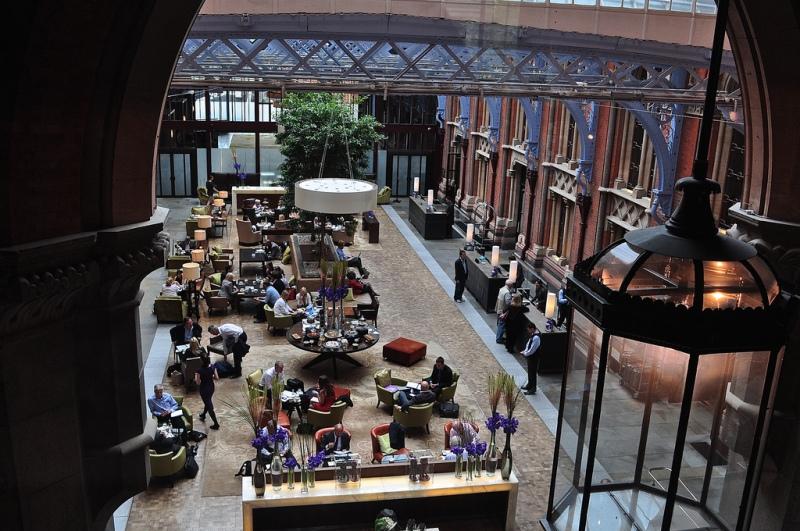 The Lobby, St Pancras Renaissance Hotel London
