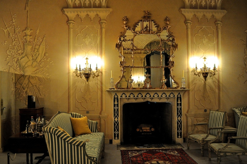 The Whistler Room, Mottisfont Abbey