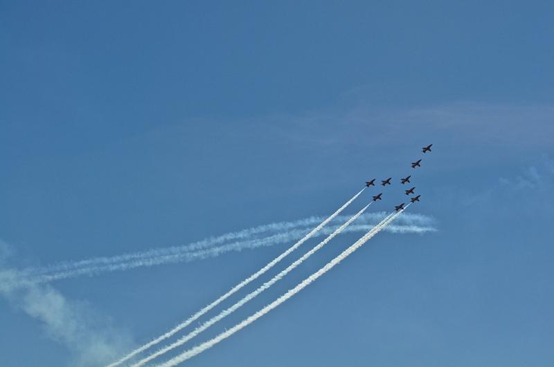 RAF Red Arrows - Concorde tribute