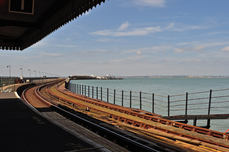 Looking out to the Pier Head at Ryde
