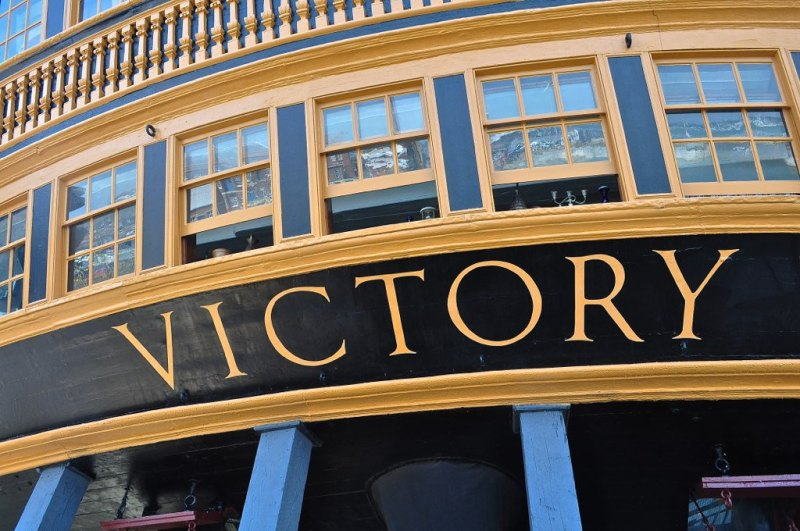 HMS Victory - Nelson Trail