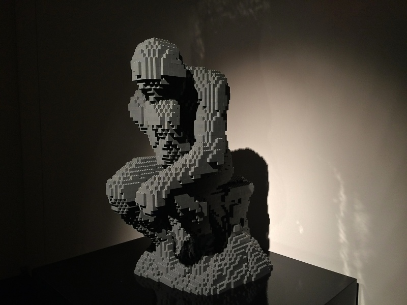 The Thinker, Nathan Sawaya - The Art of the Brick