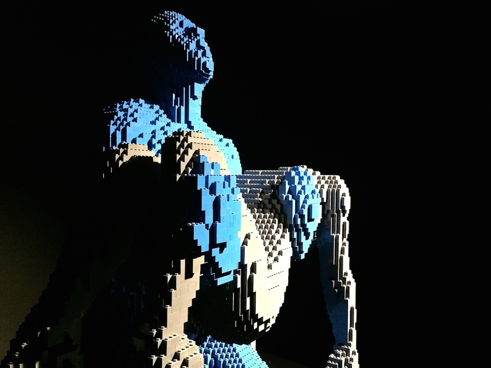 My Boy - Nathan Sawaya - The Art of the Brick