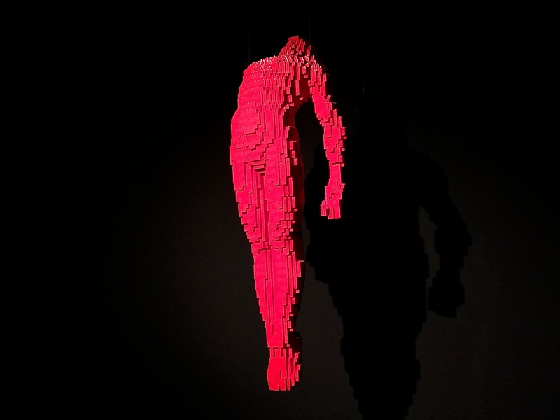Ascension -Nathan Sawaya - The Art of the Brick
