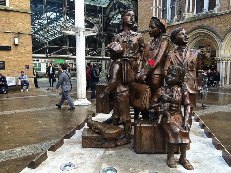 KinderTransport, Liverpool Street Station