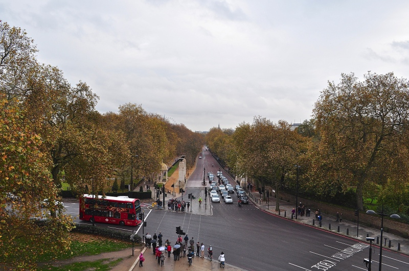 View from Wellington Arch