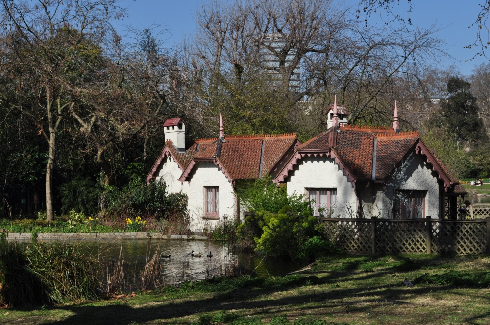 St James's Park, London - the cottage