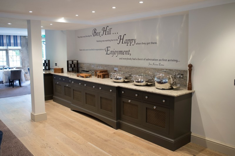 Emlyn Restaurant, Mercure Box Hill Burford Bridge Hotel, Surrey