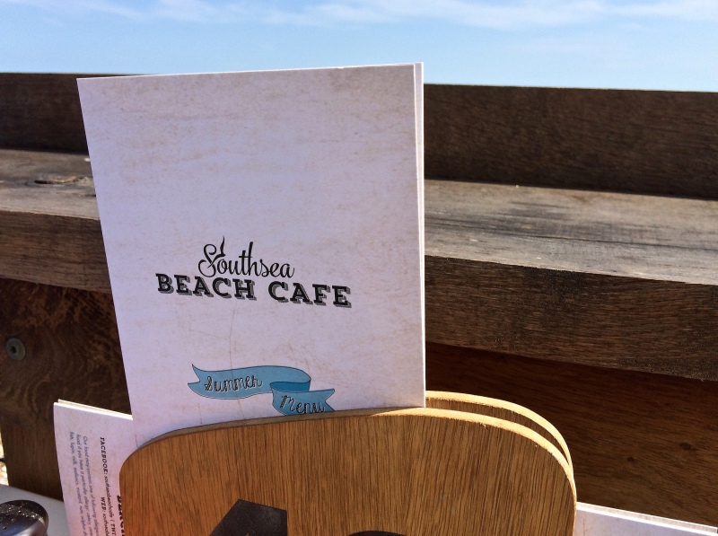 Southsea Beach Cafe by Sue Lowry