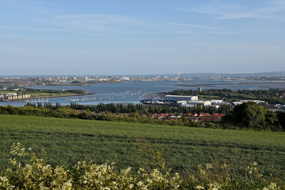 Portsdown Hill by Sue Lowry