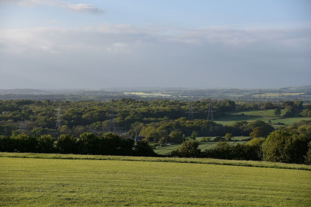 Portsdown Hill by Sue Lowry
