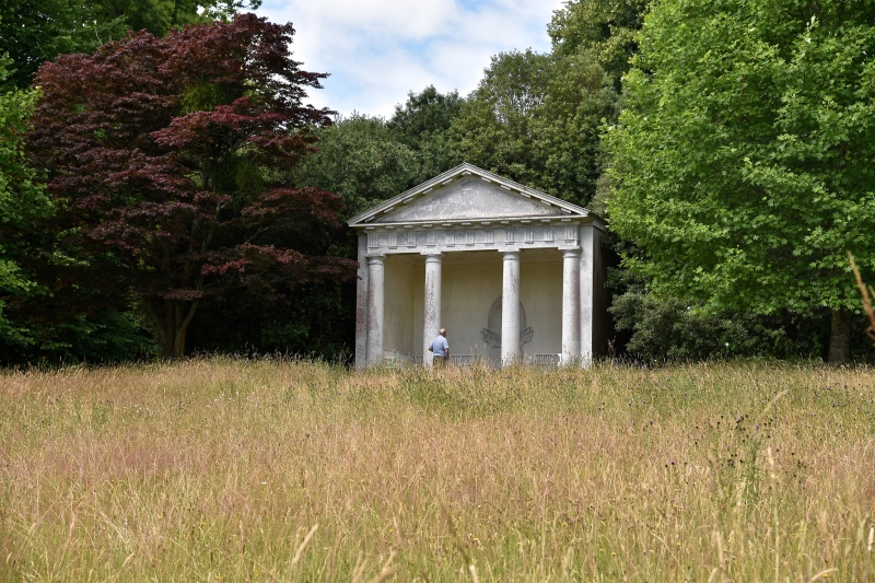 Petworth House by Sue Lowry - the Ionic Temple