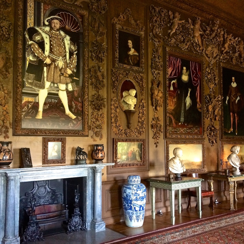 Petworth House by Sue Lowry - Grinling Gibbons galore