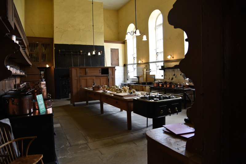 Petworth House by Sue Lowry - kitchens