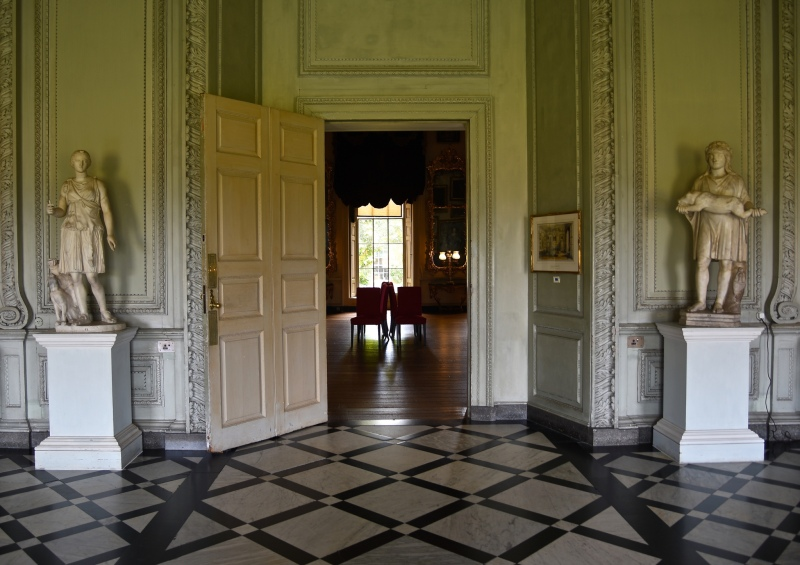 Petworth House by Sue Lowry - the former entrance lobby