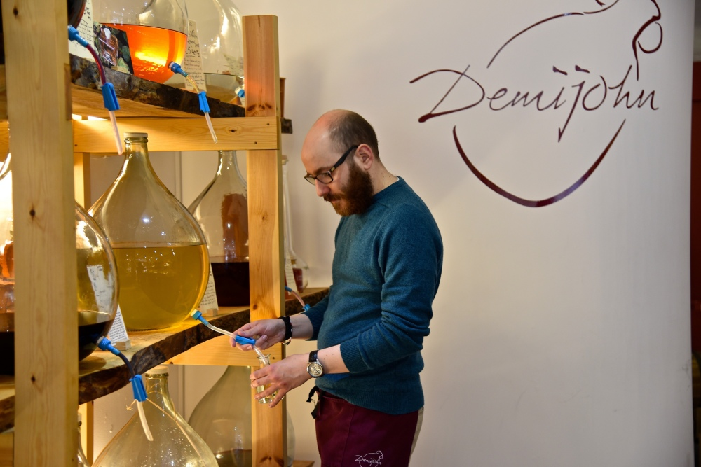DemiJohn - the Liquid Deli - by Sue Lowry