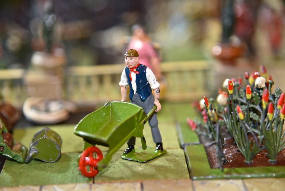 Britains Miniature Garden by Sue Lowry