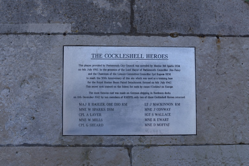 The Southsea Rose Gardens and the Cockleshell Heroes - by Sue Lowry