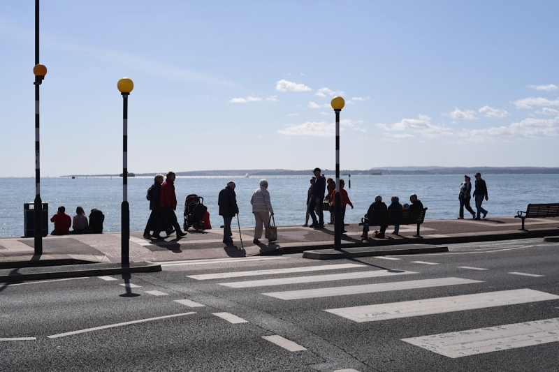 Southsea Seafront by Sue Lowry