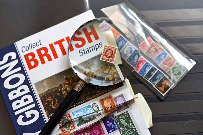 British stamps by Sue Lowry