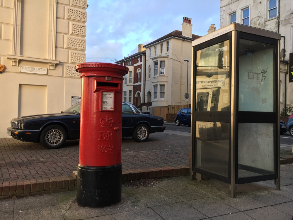 Pillar Box by Sue Lowry - Southsea