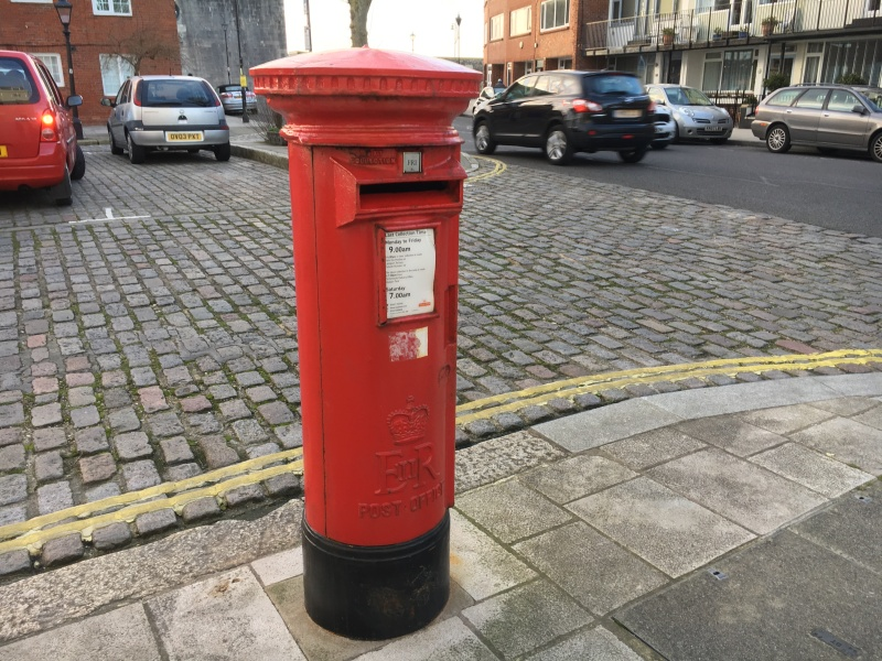 Pillar Box by Sue Lowry - Old Portsmouth
