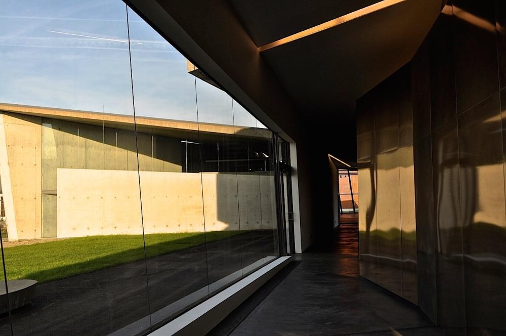 Zaha Hadid Firestation at Vitra near Basel by Sue Lowry