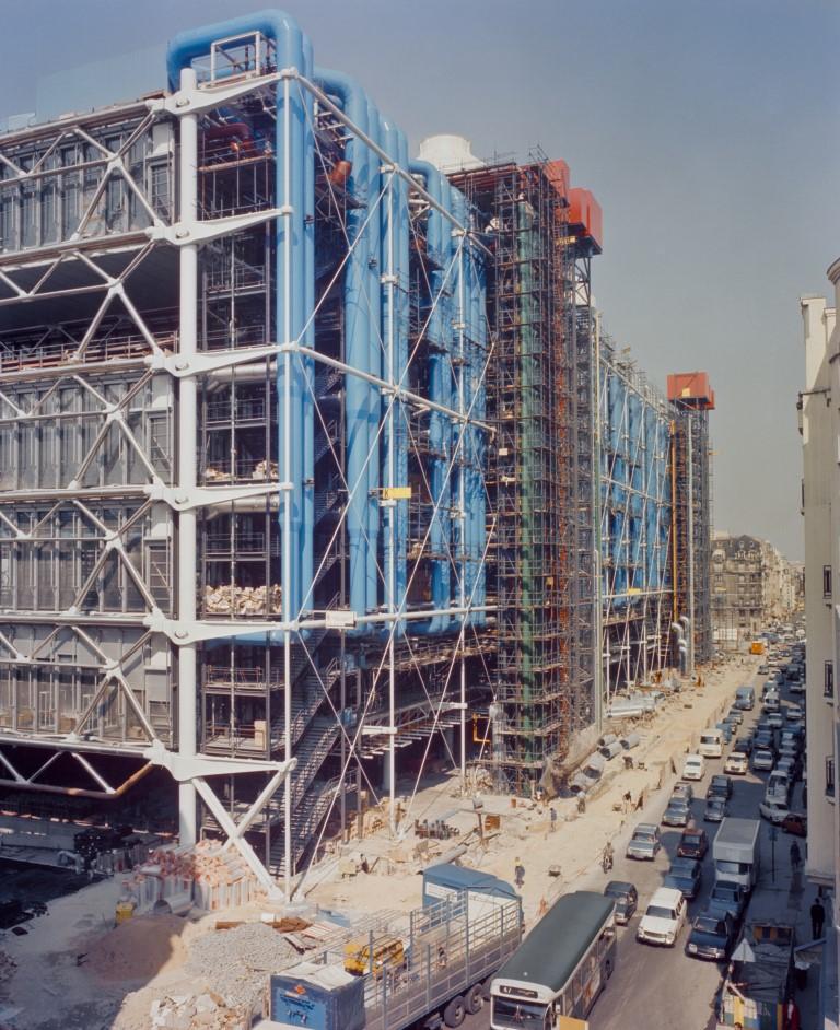 facade-arrie%e2%95%a0cre-medium - Pompidou Centre