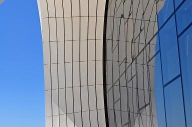 Zaha Hadid's Heydar Aliyev Cultural Centre, Baku, Azerbaijan by Sue Lowry