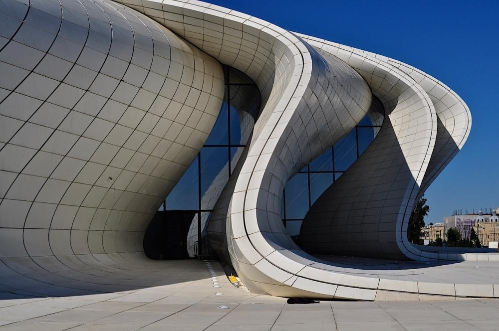 Zaha Hadid's Heyar Aliyev Cultural Centre, Baku, Azerbaijan by Sue Lowry
