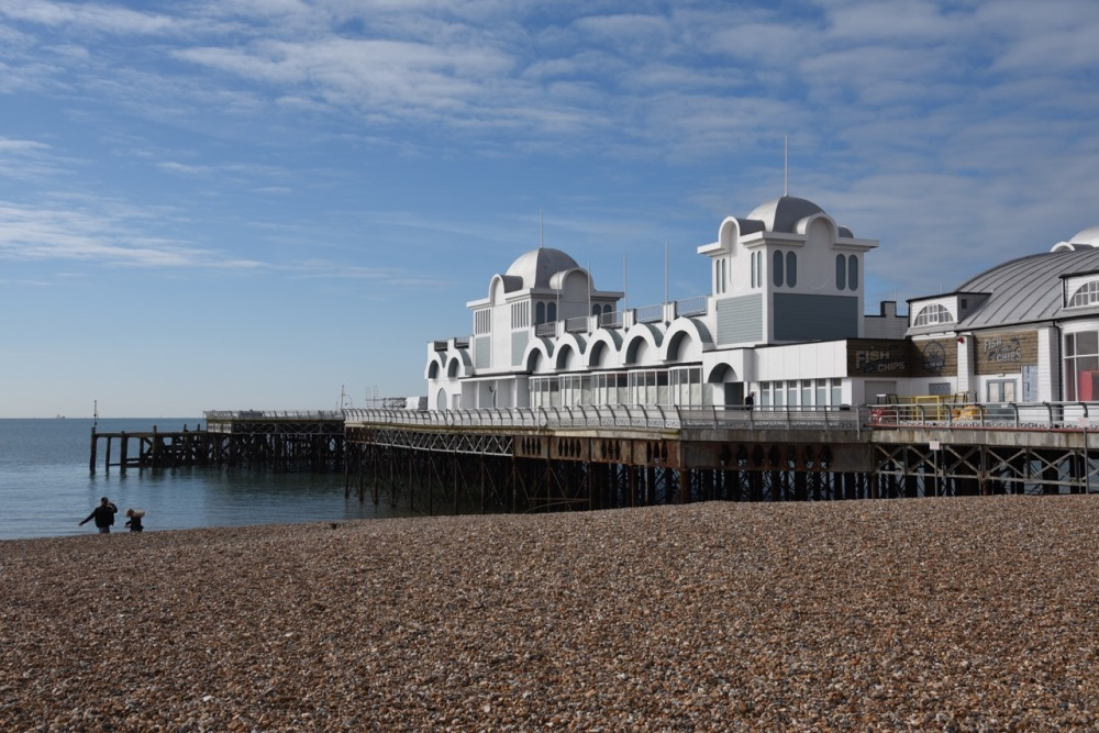 South Parade Pier by Sue Lowry