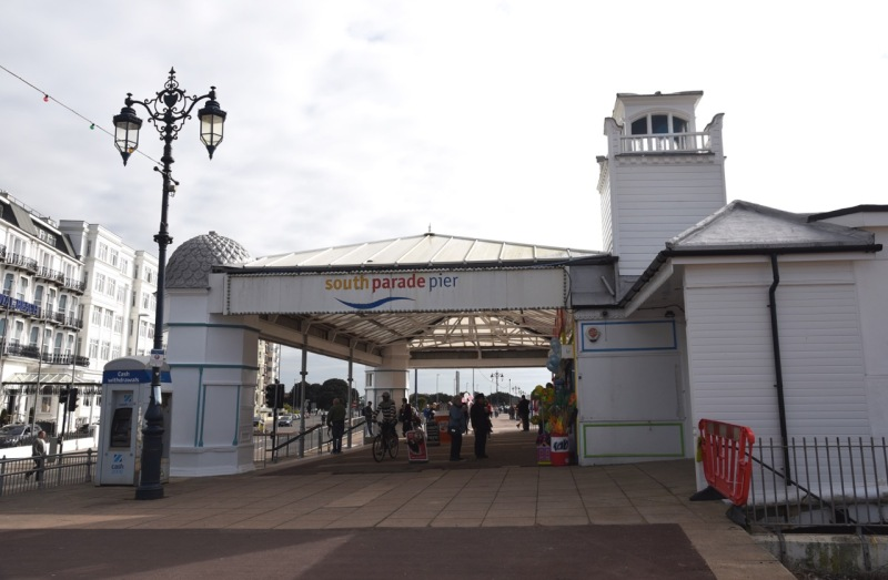 South Parade Pier by Sue Lowry